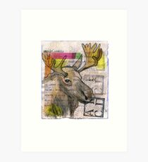 See the Luvli Moose Art Print