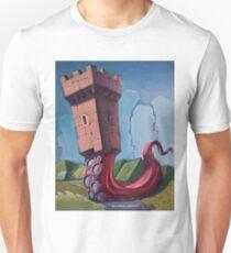 Octopus Castle Unisex T-Shirt