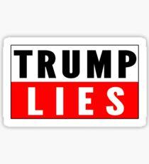 Trump Lies Sticker Sticker
