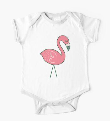 Campsite Flamingos Kids Clothes