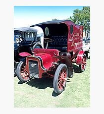 Front view - 1906 Cadillac Delivery Van......! Photographic Print