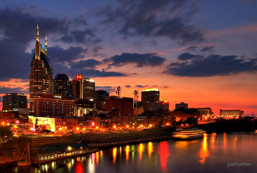Downtown from Shelby St. by joshunter