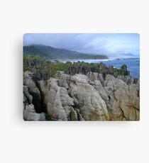 Pancake Rocks, New Zealand Canvas Print