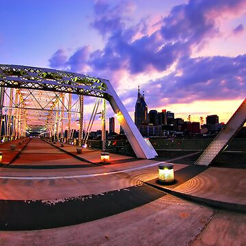 Sunset from the Bridge by joshunter