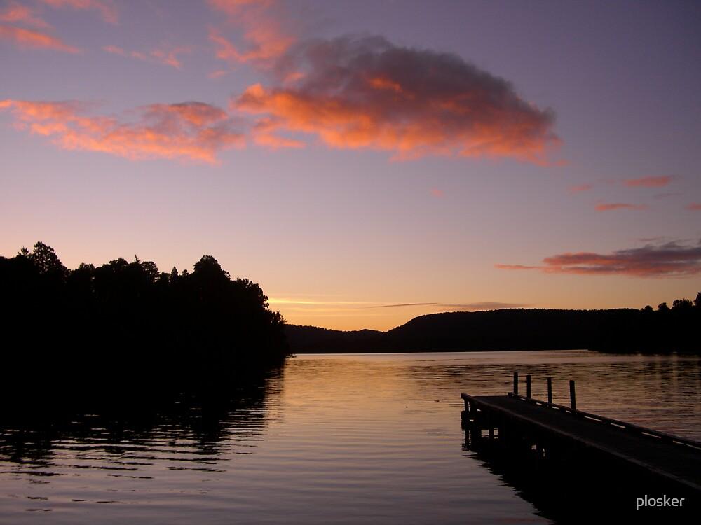 New Zealand Lake by plosker