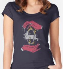 Save The Rabbit Women's Fitted Scoop T-Shirt