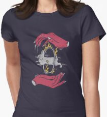 Save The Rabbit Womens Fitted T-Shirt