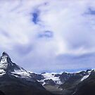 Cloudy guards above the Matterhorn by Derivatix
