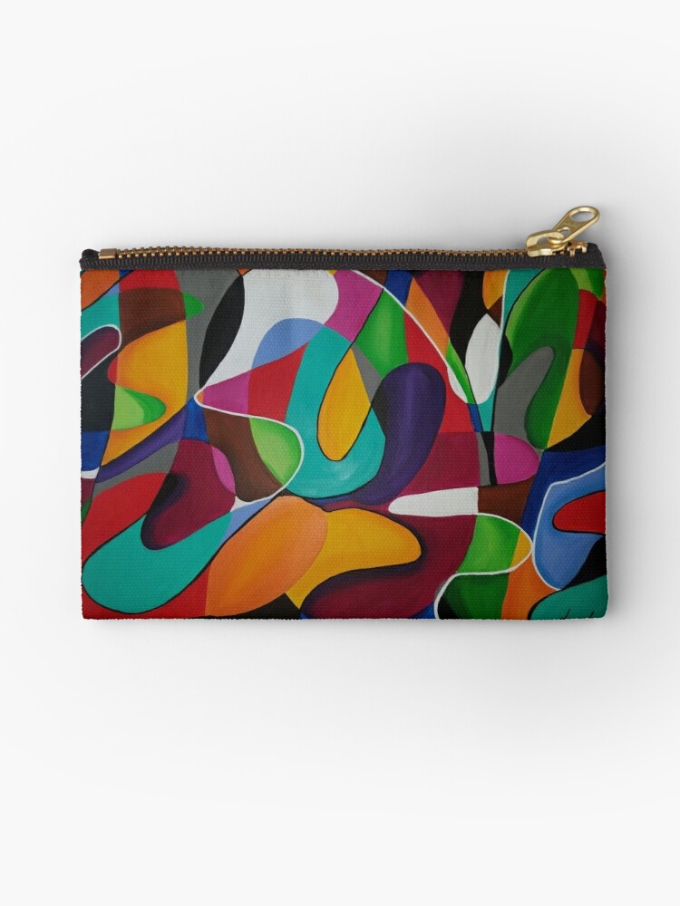 Crazy Love Abstract by Traceyadesigns