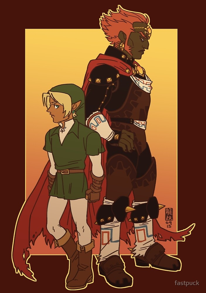 Link and Ganon by fastpuck