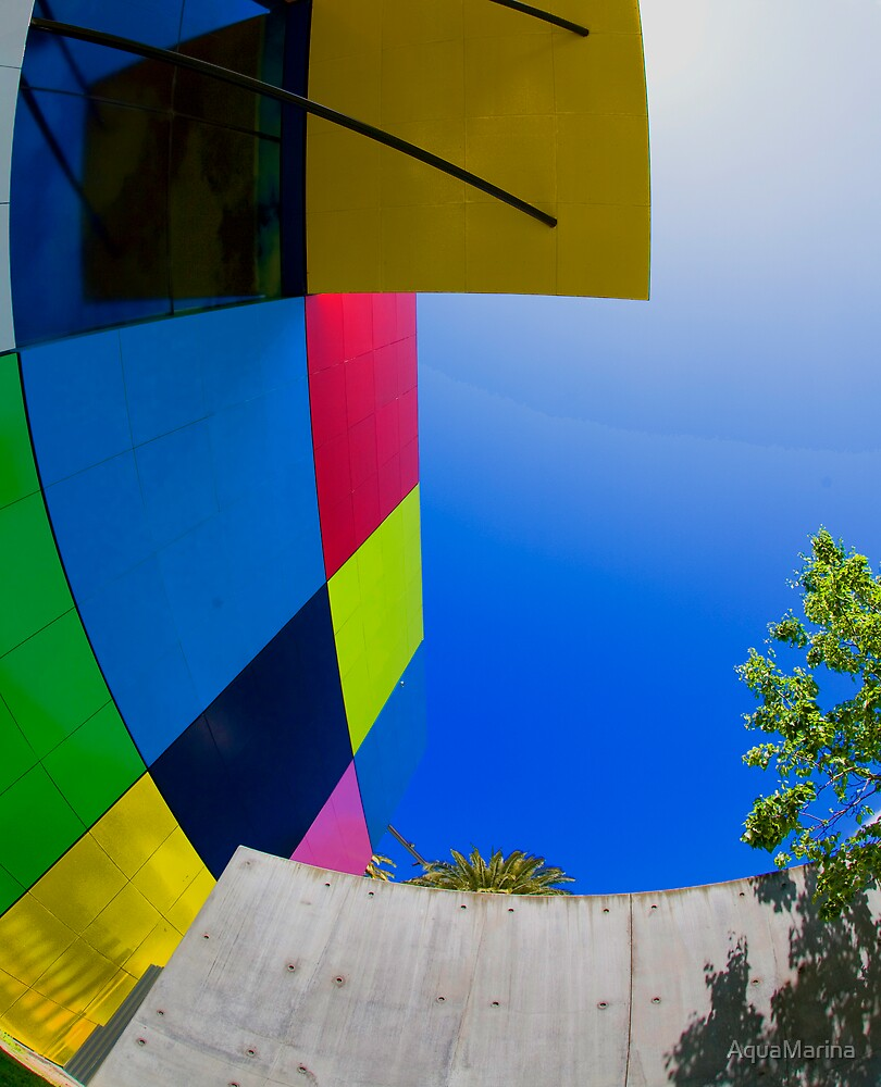 View from a liberated play pen by AquaMarina