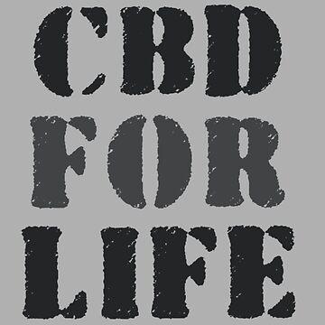 CBD For Life Cannabis  by OCDesigns2