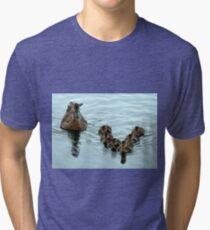 Duck Formation Tri-blend T-Shirt