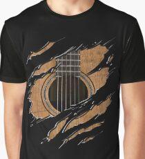 RIP Guitar (Version 1) Graphic T-Shirt