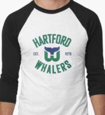 Camiseta ¾ estilo béisbol Hartford Whalers CT