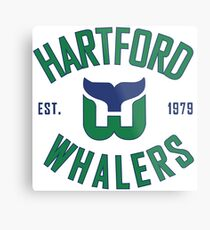 Hartford Whalers CT Metal Print