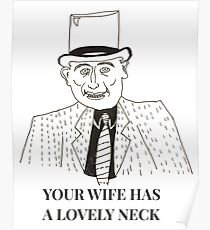 Unkle Adams (Your Wife Has A Lovely Neck) Poster