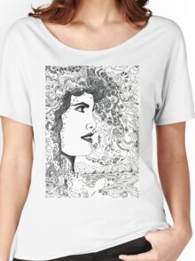 Vision On [Original Pen drawing] Women's Relaxed Fit T-Shirt