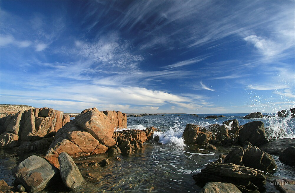 Rocks and Big Skies by smylie