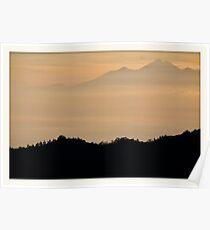 Gunung Batur, Bali Poster