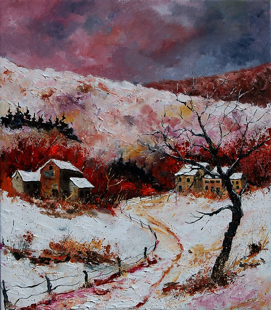 snowy landscape  by calimero