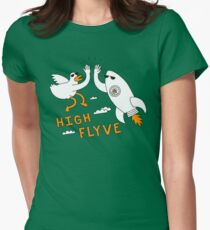 High Flyve Womens Fitted T-Shirt