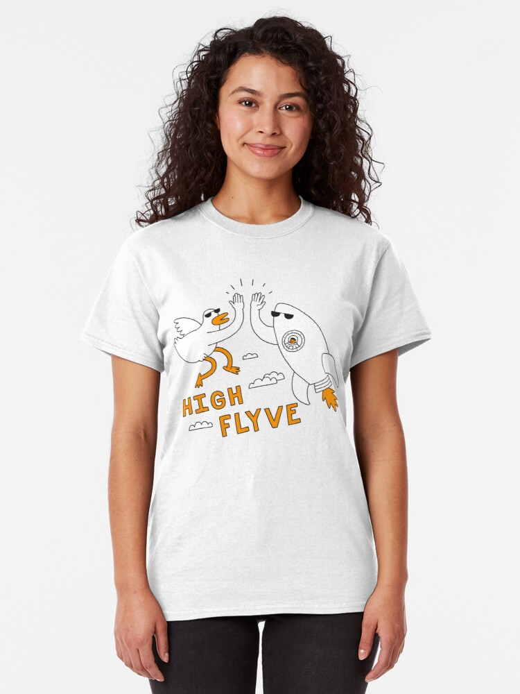 Alternate view of High Flyve Classic T-Shirt