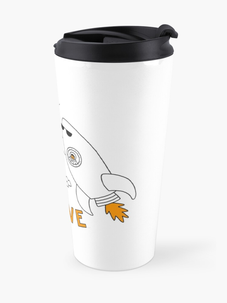 Alternate view of High Flyve Travel Mug