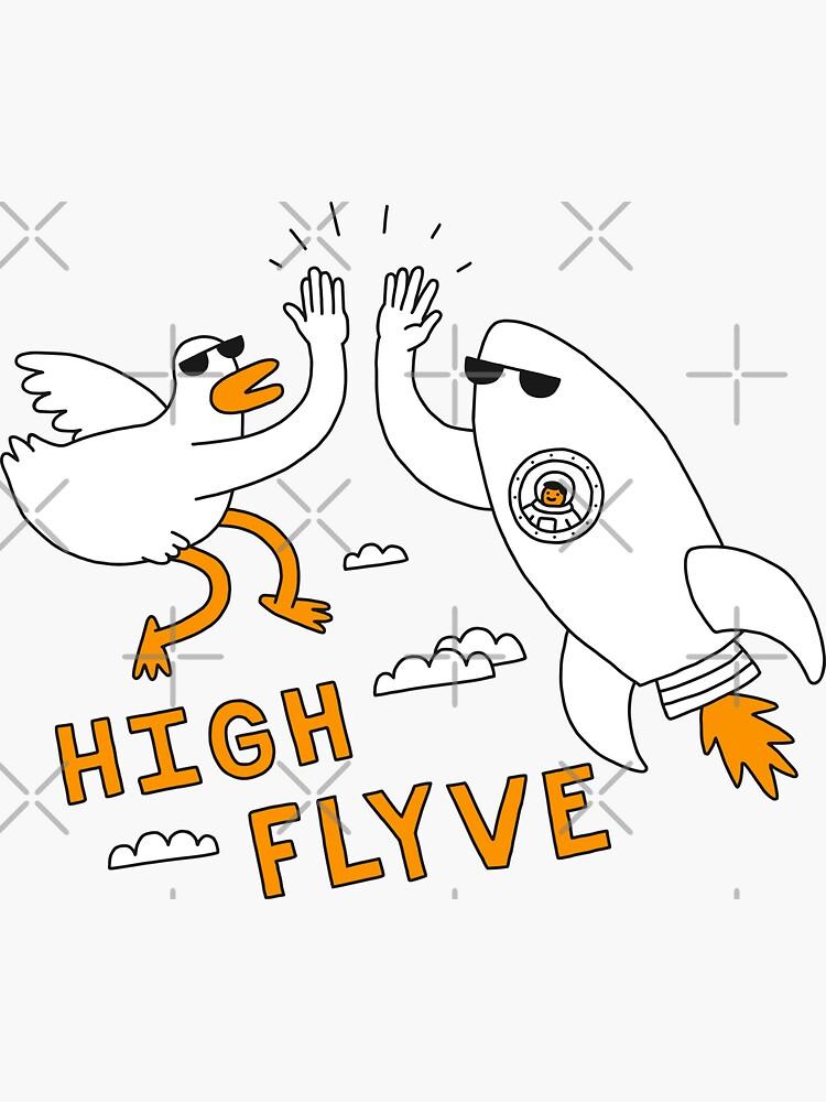 High Flyve by obinsun