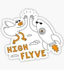 High Flyve Sticker