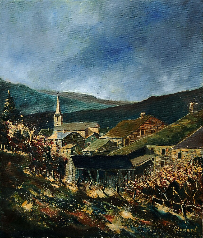 Mogimont village belgium by calimero