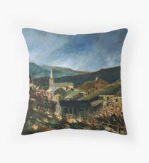 Mogimont village belgium Throw Pillow