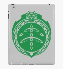 Green Lion Celtic  iPad Case/Skin