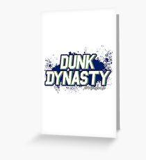 Dunk Dynasty Greeting Card