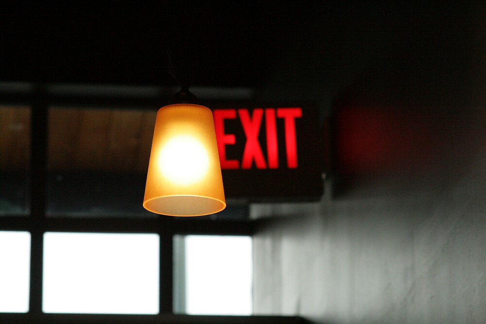 Exit.. by Bardiebar
