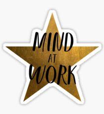 Mind at Work - Hamilton Sticker
