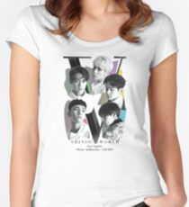 SHINee Tour - Los Angeles Women's Fitted Scoop T-Shirt