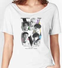 SHINee Tour - Los Angeles Women's Relaxed Fit T-Shirt