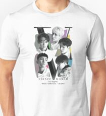 SHINee Tour - Los Angeles Unisex T-Shirt