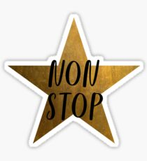 Non-Stop - Hamilton Star Sticker