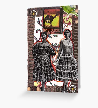 Fashion In Cairo Greeting Card