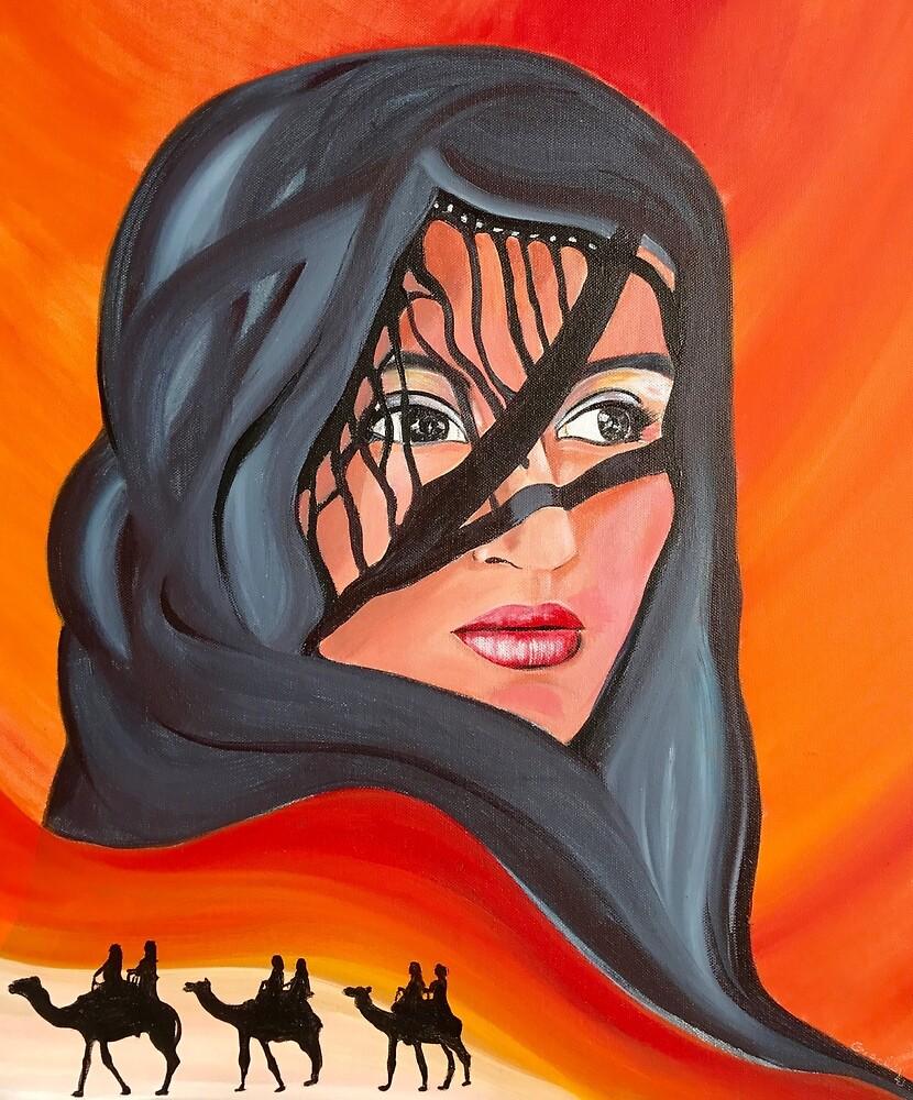 Desert Queen Mirage by Giselle Luske