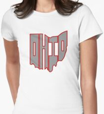 Ohio Womens Fitted T-Shirt