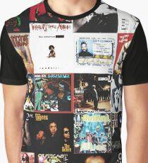 90s HIP HOP HISTORY Graphic T-Shirt