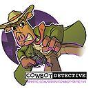 Webcomic Cowboy Detective Promos by gradeafun