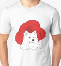 American Eskimo Dog Art Unisex T-Shirt
