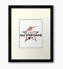 MLB All Star Game 2017 Framed Print