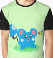 Azurill and the Rainbow Bean Graphic T-Shirt