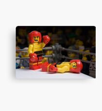 Knock-out Canvas Print