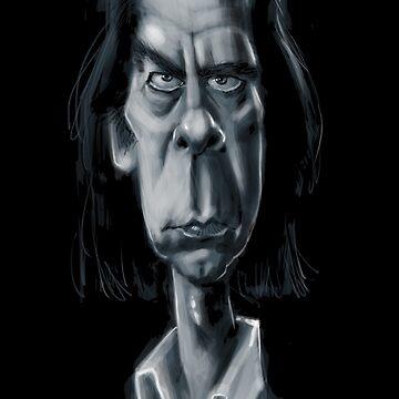 Nick Cave by stephencase